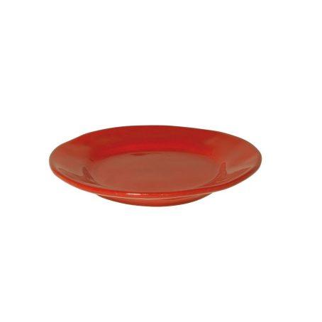 Ontbijtbord rood 302R4