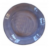 ronde schaal blauw 304B2